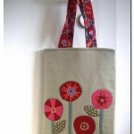 DIY: Blumen-Shopper